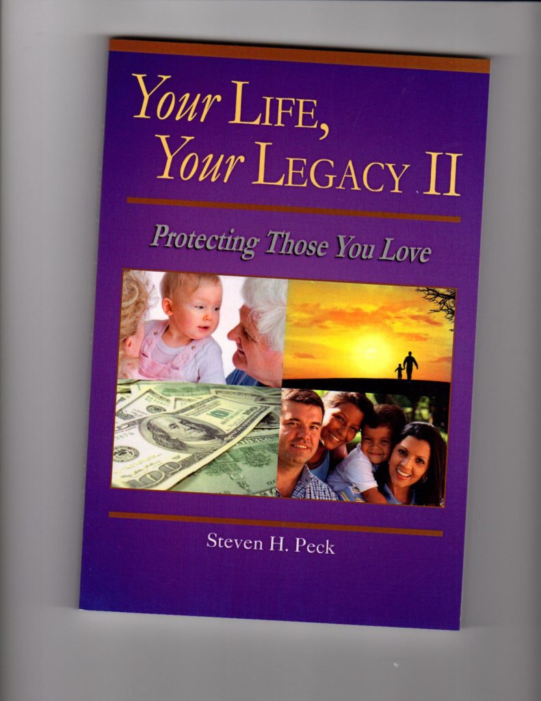 Steven Peck's Planning Your Legacy Book